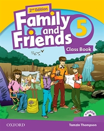 Books Frontpage Family and Friends 2nd Edition 5. Class Book Pack. Revised Edition