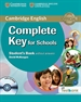Portada del libro Complete Key for Schools Student's Book without Answers with CD-ROM with Testbank