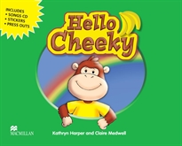 Books Frontpage HELLO CHEEKY MONKEY Pb Pk