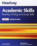 Front pageHeadway Academic Skills 1. Reading, Writing, and Study Skills Student's Book