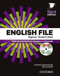 Portada del libro English File 3rd Edition Beginner Student's Book + Workbook with Key Pack
