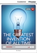 Portada del libro The Greatest Invention of All Time Low Intermediate Book with Online Access