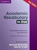 Portada del libro Academic Vocabulary in Use Edition with Answers 2nd Edition