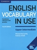 Front pageEnglish Vocabulary in Use Upper-Intermediate Book with Answers