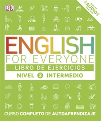 Portada del libro English for everyone (Ed. en español) Nivel intermedio - Libro de ejercicios
