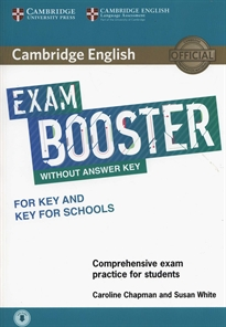 Portada del libro Cambridge English Exam Booster for Key and Key for Schools without Answer Key with Audio