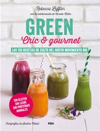 Books Frontpage Green, chic & gourmet