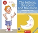 Portada del libro The balloon,the spoon and the moon