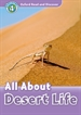 Portada del libro Oxford Read and Discover 4. All About Desert Life MP3 Pack