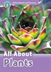 Portada del libro Oxford Read and Discover 4. All About Plants MP3 Pack