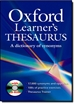 Portada del libro Oxford Learner's Thesaurus