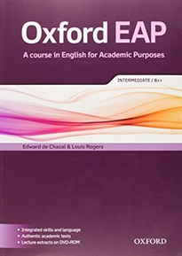 Books Frontpage Oxford English for Academic Purposes Intermediate. Student's Book + DVD Pack