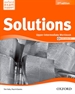 Portada del libro Solutions 2nd edition Upper-Intermediate. Workbook CD Pack