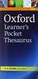 Portada del libro Oxford Learner's Pocket Thesaurus