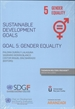 Portada del libro Sustainable Development Goals. Goal 5: Gender Equality   (Papel + e-book)