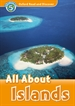 Portada del libro Oxford Read and Discover 5. All About Islands MP3 Pack