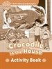 Portada del libro Oxford Read and Imagine Beginner. Crocodile in The House Activity Book