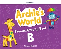 Books Frontpage Archie's World B. Phonics Readers Pack