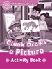 Front pageOxford Read and Imagine Starter. Clunk Draws A Picture Activity Book
