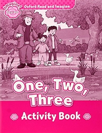 Portada del libro Oxford Read and Imagine Starter. One, Two, Three Activity Book