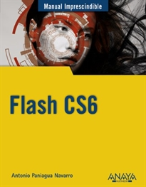 Portada del libro Flash CS6