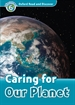 Portada del libro Oxford Read and Discover 6. Caring for our Planet MP3 Pack