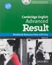 Front pageCAE Result Workbook witht Key + CD-ROM 2015 Edition