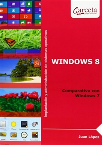 Portada del libro Windows 8. Comparativa con Windows 7