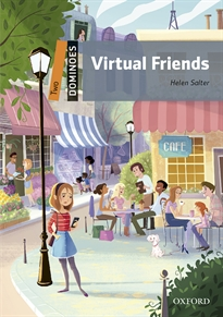 Books Frontpage Dominoes 2. Virtual Friends MP3 Pack