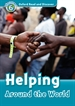 Front pageOxford Read and Discover 6. Helping Around the World MP3 Pack