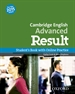 Front pageCAE Result Student's Book with Online Practice 2015 Edition