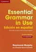 Portada del libro Essential grammar in use book without answers Spanish edition
