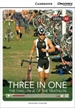 Front pageThree in One: The Challenge of the Triathlon Low Intermediate Book with Online Access