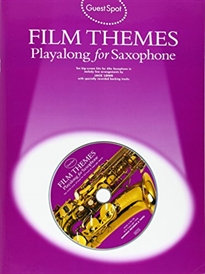 Books Frontpage GUEST SPOT FILM THEMES PLAYALONG (+CD) (SA)