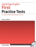 Portada del libro First Certificate Test without Key Exam Pack 3rd Edition