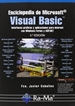 Portada del libro Enciclopedia de Microsoft Visual Basic. Interfaces gráficas y aplicaciones para Internet con Windows Forms y ASP.NET. 3ª Ed.