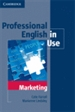 Portada del libro Professional English in Use Marketing with Answers