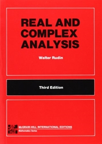 Portada del libro Real and complex analysis (McGraw-Hill International Editions: Mathematics Series)