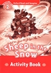 Portada del libro Oxford Read and Imagine 2. Sheep in the Snow Activity Book