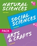 Front pageNew Think Do Learn Natural & Sciences & Arts & Crafts 6. Class Book Pack (Madrid Edition)