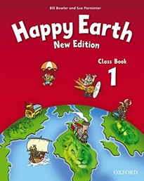 Books Frontpage Happy Earth 1. Class Book 2nd Edition