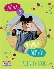 Portada del libro Natural Science 3. Activity Book.