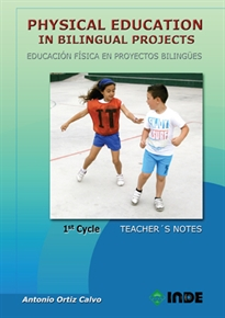 Portada del libro Physical Education in Bilingual Projects. 1st Cycle / Educación Física en proyectos bilingües. 1er ciclo