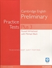 Portada del libro Practice Tests Plus PET 3 without Key and Multi-ROM/Audio CD Pack