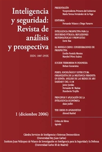 Books Frontpage INTELIGENCIA 8 SEGURIDAD REVISTA DE ANALISIS