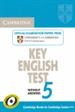 Portada del libro Cambridge Key English Test 5 Student's Book without answers