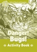 Portada del libro Oxford Read and Imagine 3. Danger! Bugs! Activity Book