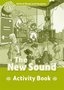 Portada del libro Oxford Read and Imagine 3. The New Sound Activity Book