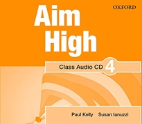 Portada del libro Aim High 4. Class Audio CD