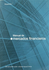 Portada del libro Manual de mercados financieros